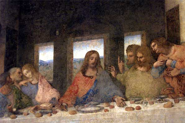 Super-sized Last Supper