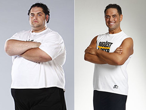 BIGGEST LOSER WINNER Mike Ventrella lost a whopping 50.19 percent of ...